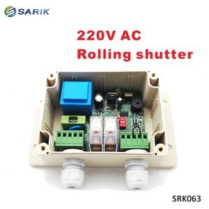 Image 2 - 220V Roller Shutters wireless Motor Receiver for Garage Door Controller Remote Universal 2 Channel Receiver 1*receiver+2*remote
