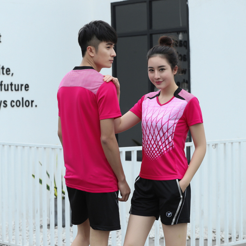 101 Men And Women Badminton Clothing Set Customizable Racing Suit Work Clothes Training Service Printed Number