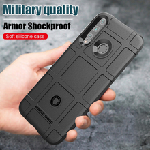 honor 10i case For huawe Anti-shock Shockproof Armor Rubber Bumper Back Phone Cover