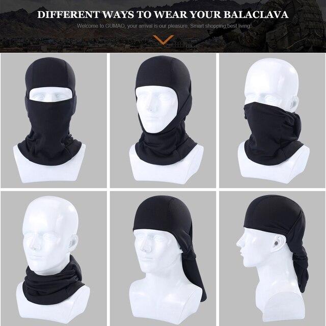 Winter Fleece Balaclava Black Full Face Mask Neck Warmer Thermal Head Cover Cycling Hood Liner Sport Ski Snowboard Scarf Hat Men 4