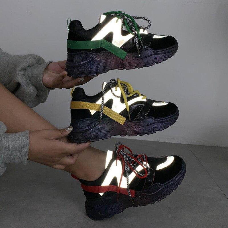 buty z odblaskami damskie