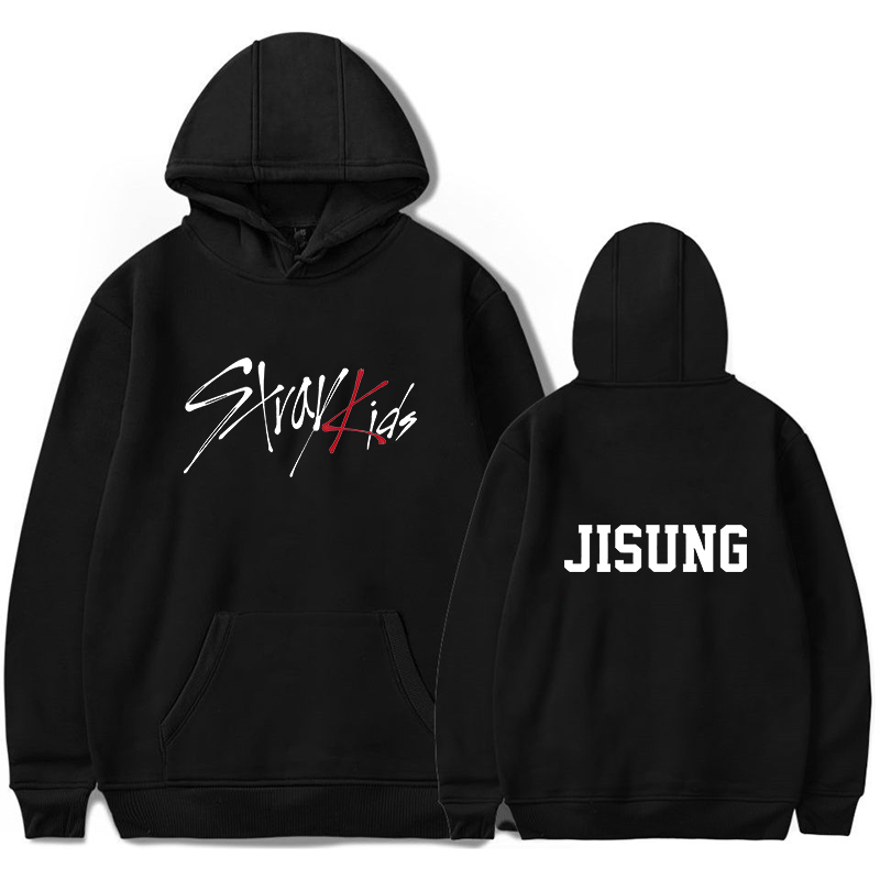 Kpop Stray Kids Hoodies Women Men Streatwear Sweatshirt Teens Pullover Hoodie Casual Clothing Long Sleeve Hoodie Winter Clothes