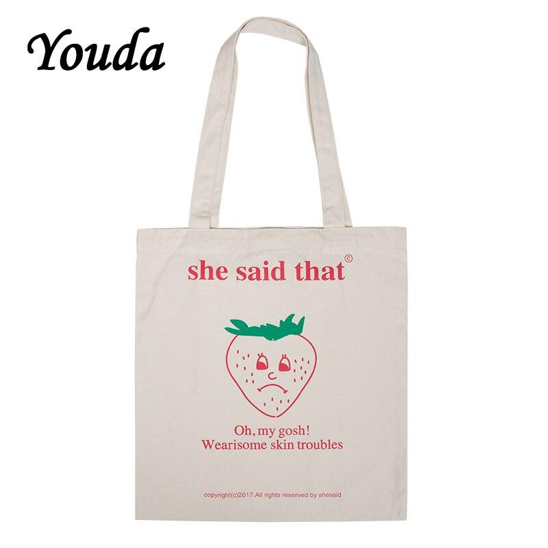 Youda New Fashion Classic Style Women Shoulder Bags Original Ladies Shopping Handbags Simple Female Bgas Cool Girls Tote Handbag