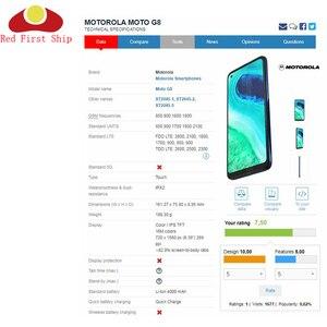 Image 2 - 10 adet/grup yedek LCD ön dokunmatik ekran cam dış Lens Motorola Moto G8 oyun artı dokunmatik Panel cam G8 güç cam
