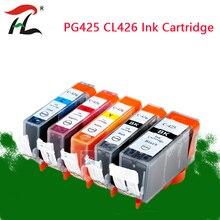 PGI 425 Cli 426 תואם דיו מחסנית עבור Canon PGI425 CLI426 PIXMA IP4840 IP4940 IX6540 MG5140 MG5240 MG5340 MX714 מדפסת