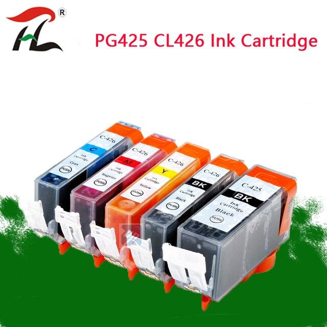 PGI 425 Cli 426 خرطوشة حبر متوافقة لكانون PGI425 CLI426 PIXMA IP4840 IP4940 IX6540 MG5140 MG5240 MG5340 MX714 طابعة
