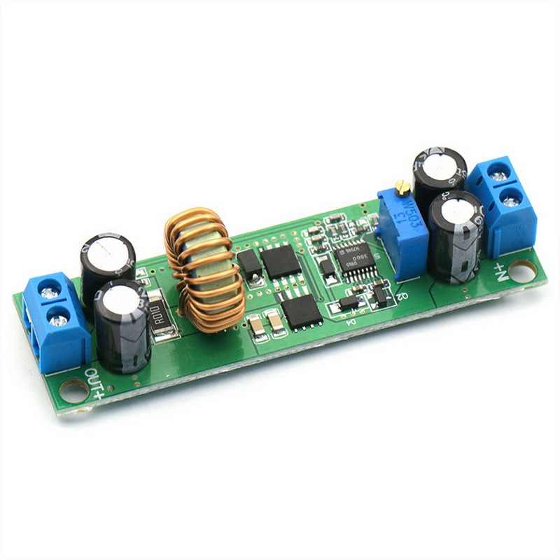 DC-DC 10A Adjustable 60V 48V 36V 24V 6.5V untuk 30V 24V 12V 3V Mobil Charger Regulator Step Down Converter Power Supply Modul
