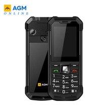 AGM M3 המוקשח Dual SIM חיצוני 2.4 טלפון IP68 עמיד למים עמיד הלם Dustproof לפיד 1970mAh פנס טלפון סלולרי