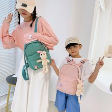 2021 New Autumn Cartoon Campus Schoolbag Backpack High Quality Oxford Cloth Waterproof Ladies Youth Fashion Backpack