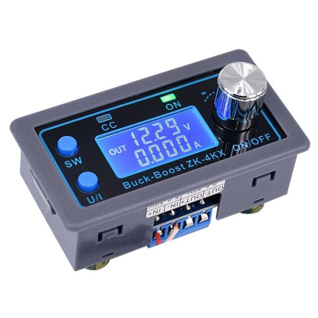 ZK 4KX Cnc Dc Dc Buck Boost Converter Cc Cv 0.5 30V 4A Power Module Verstelbare Gestabiliseerde Voeding voor Solar Batterij Opladen