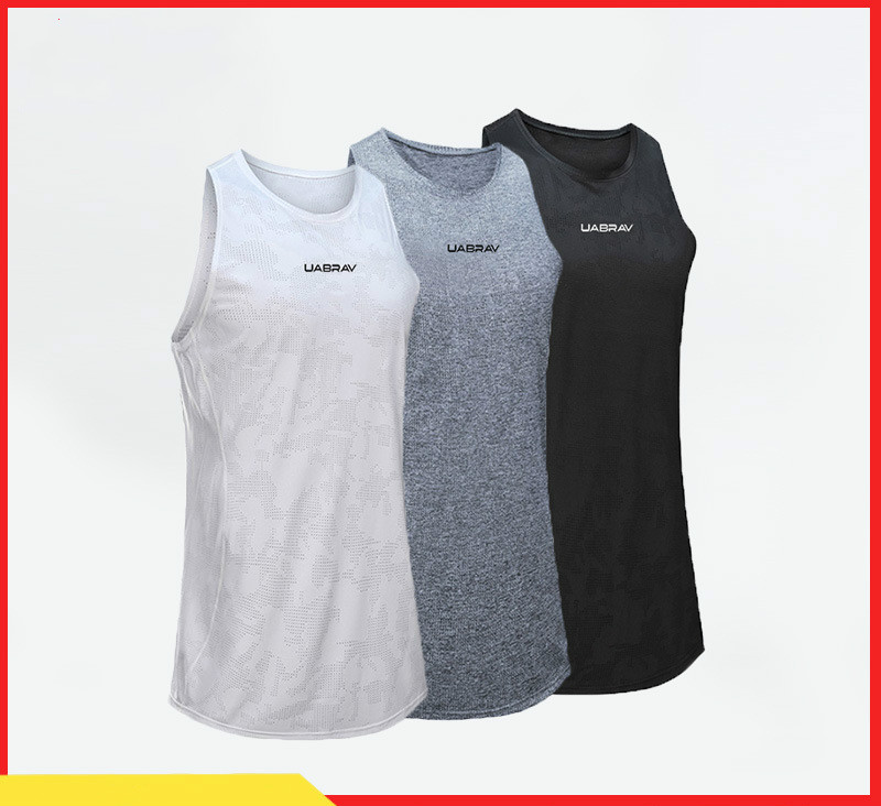 ABV Fitness Clothes   Basketball Breathable Sports Vest Outdoor Casual Running Quick-Drying Shirt Fitness Vest