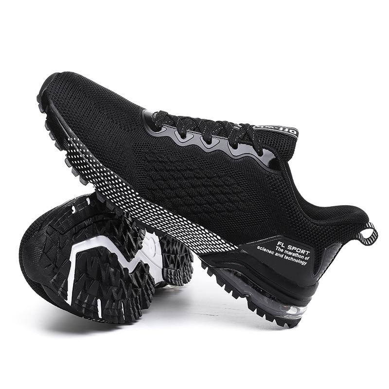 New Spring Summer Running Shoes Men Breathable Mesh Running Sneakers Big Size 39-46 Anti Slip Walking Footwears Mens Shoes 7