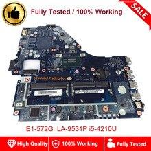 V5WE2 LA-9531P Mainboard Für ACER E1-572 E1-572G Laptop Motherboard NBV8M11007 I5-4210U SR1EF 100% Test Schnelles Verschiffen