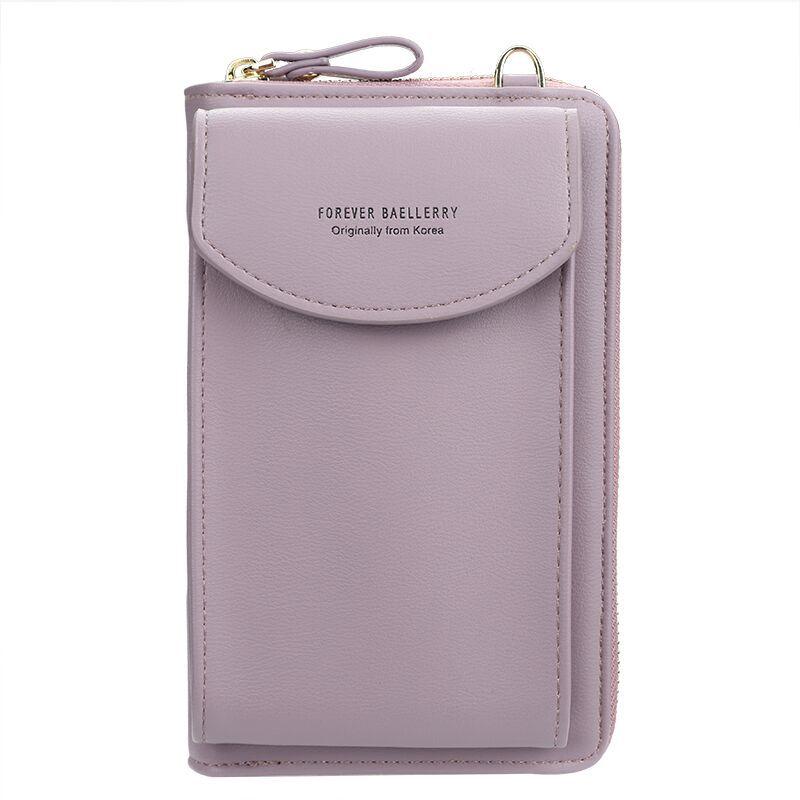 2020 Women Wallet Famous Brand Cell Phone Bags Big Card Holders Handbag Purse Clutch Messenger Shoulder Long Straps Dropshipping