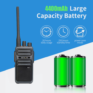 Image 4 - RETEVIS RB17/RB617 Walkie Talkie 2pcs  Portable Two  Way Radio UHF Radio Station PMR446 FRS Walkie talkie VOX  Type C Charging
