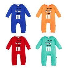 Newborn Spring Autumn Romper 100% Cotton Baby Rompes Cartoon High Quality Infant Baby Clothing Long Sleeve Cute Boy Girl Clothes(China)