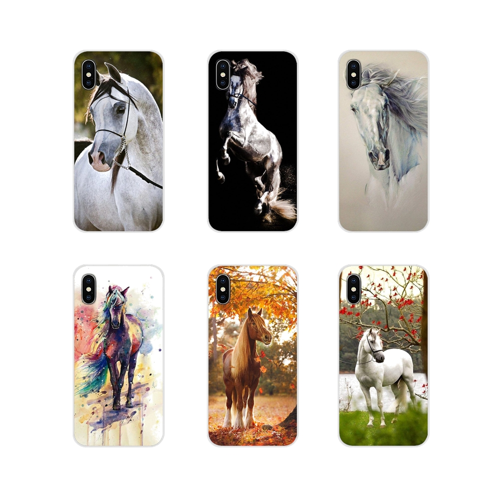 Accessories <font><b>Cases</b></font> Covers For <font><b>Samsung</b></font> A10 A30 A40 <font><b>A50</b></font> A60 A70 <font><b>Galaxy</b></font> S2 Note 2 3 Grand Core Prime Watercolor <font><b>horse</b></font> Running <font><b>Horses</b></font> image