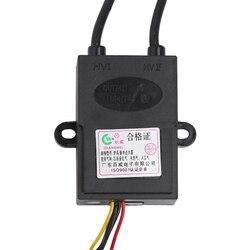Uniwersalny 1.5V dwuprzewodowy palnik gazowy zapalnik regulacja temperatury domowych bojler elektryczny części pojedynczy zapłon elektryczny impuls w Części do gazowego podgrzewacza wody od AGD na