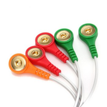 Kabel ekg kabel ekg od CONTEC TLC9803 3 kanał ekg monitorowania metodą holtera system nagrywania tylko kabel tanie i dobre opinie HealthMedE CN (pochodzenie) 9803 cable Palm 10*8*8 Akcesoria do domowych monitorów stanu zdrowia color