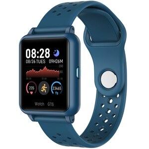 Смарт-браслет ZKCREATION P29 для мужчин и женщин, измерение температуры тела, пульсометр, шагомер, монитор, Смарт-часы, фитнес-браслет