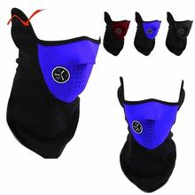 Outdoor Windproof Warm Face Mask Cycling Ski Sports Outdoor Winter Neck Guard Scarf Warm Mask Riding Protective Gear Masks цены