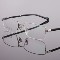 Pure Titanium Frame Glass Business Men's Myopia Half Brand