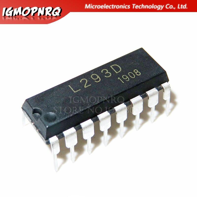 5 шт. L293D DIP16 L293 DIP 293D DIP-16 Новый и оригинальный IC