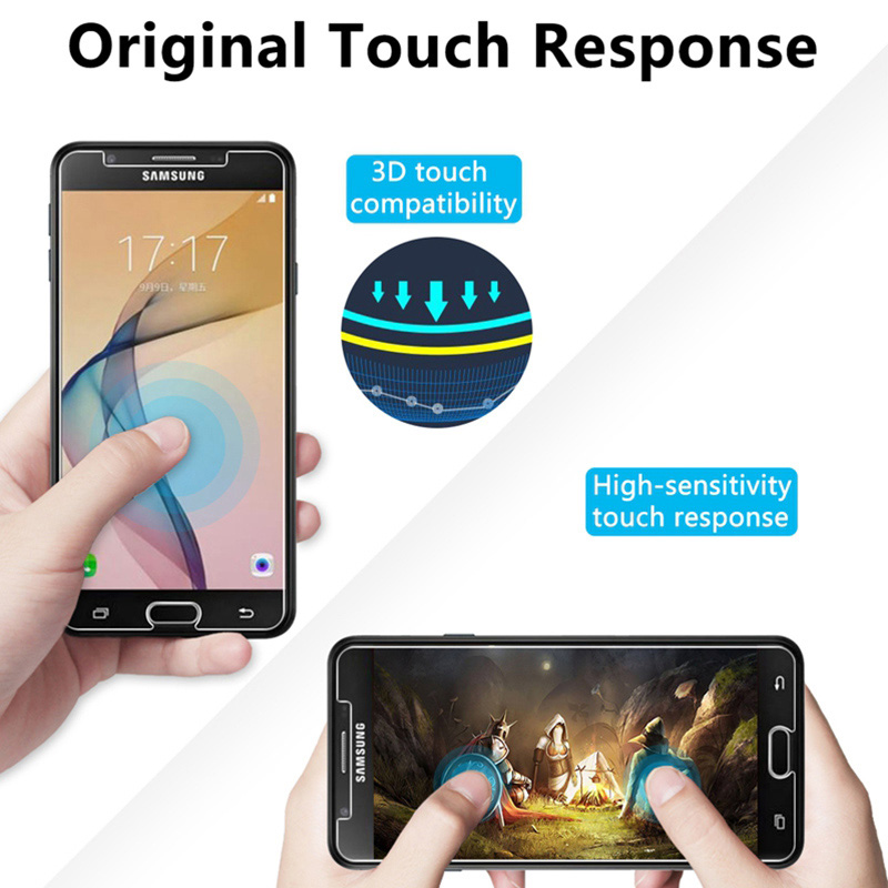 Tempered Glass For Samsung Galaxy J3 J5 J7 J1 2016 9H Screen Protector For Samsung A3 A5 A7 2017 Hard Protective Front Film