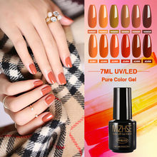 Mizhse 7 Ml Nail Gel Polish Rendam Off Uv Gel Lacquer Matt Top Base Coat Lampu LED Hybrid Pernis Gel cat Kuku untuk Manikur(China)