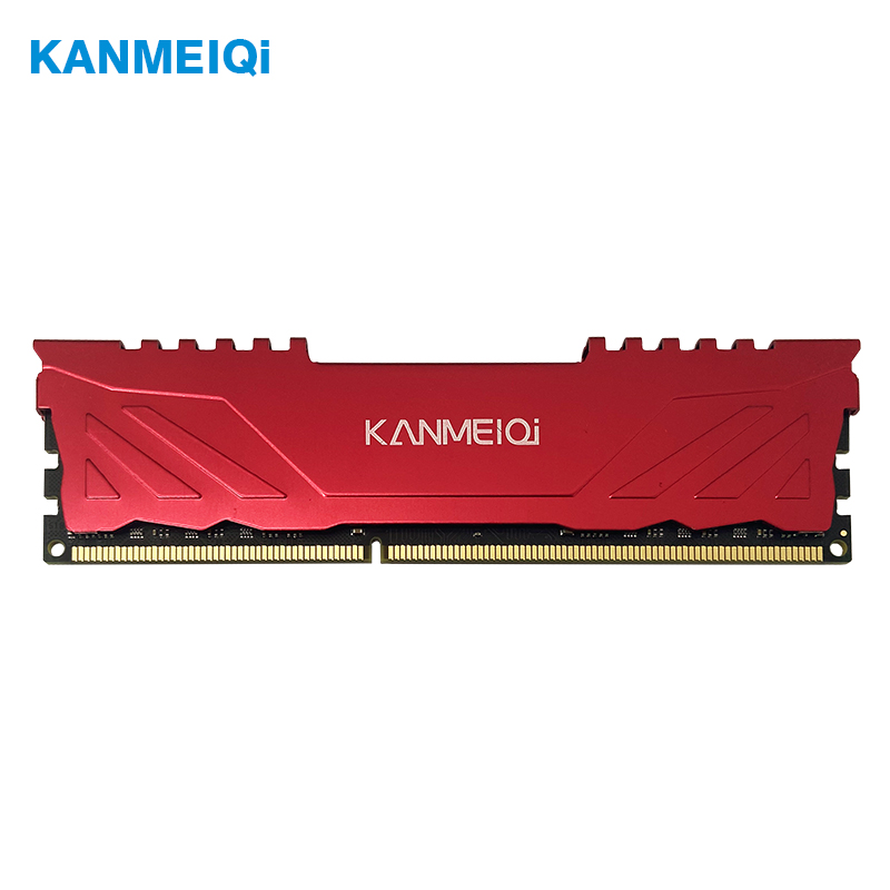 KANMEIQi ram DDR3 4GB 8GB 1333mhz 1600/1866MHz Desktop Memory with Heat Sink dimm pc3 CL9 CL11 1.5V 240pin compatible Intel/AMD