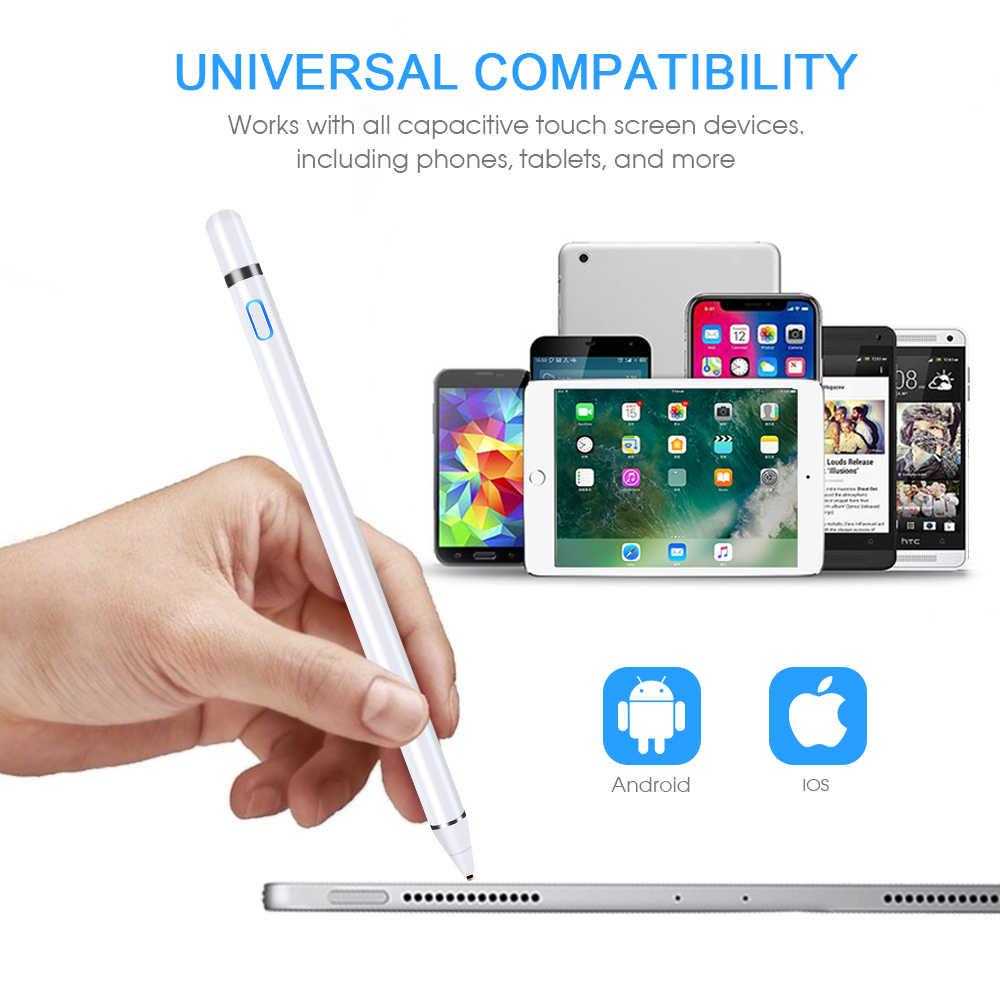 Goojodoq Stylus Bút Cảm Ứng Cho Bút Apple iPad Pro Air 2 3 Mini 4 Bút Cảm Ứng Samsung Huawei Máy Tính Bảng IOS/Android Điện Thoại Di Động