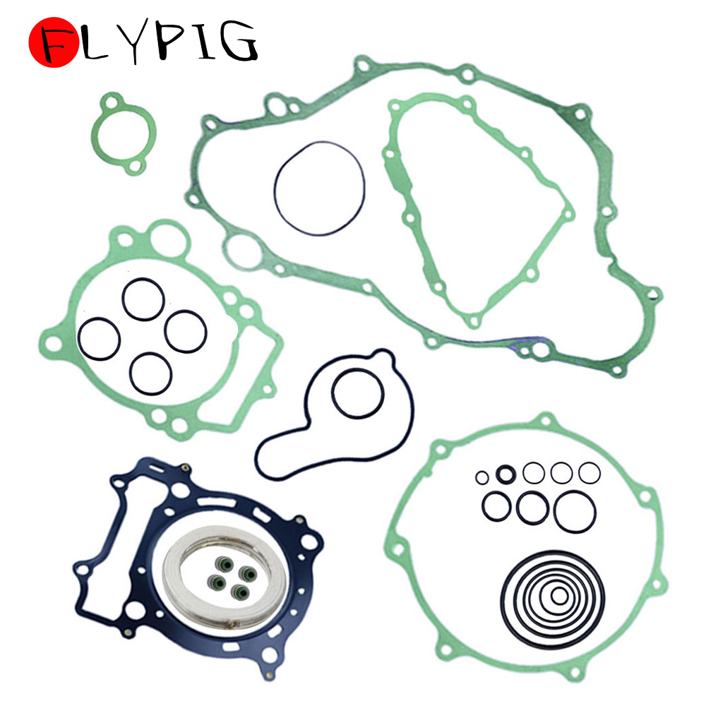 Complete Gasket Kit Set Top & Bottom for Yamaha YFZ450 YFZ 450 2004 - 2009 2005 2006 2007 2008 D15 image