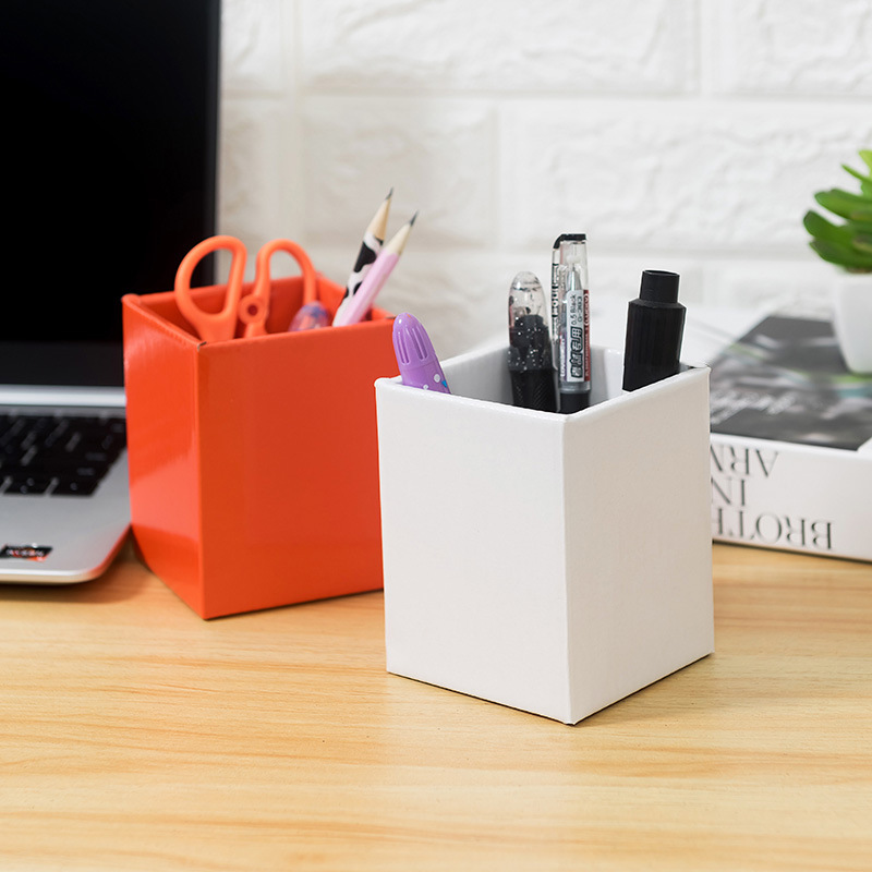Creative Desktop Desk Organizer Office Supplies Accessories Sorting Storage Pencil Case Pen Holder Stationery Multifunctional