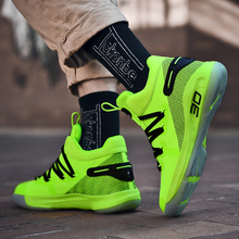 Stephen Curry 6 Basketball Shoes 2020 New Basket Sneakers Men Athletics High-top Shoes Kids Kyrie Lebron Shoes Outdoor 36-45