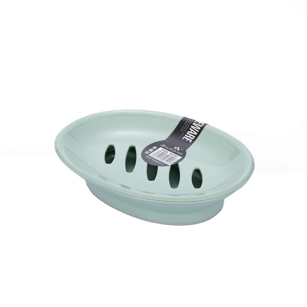 Kreatywne praktyczne podwójne kraty mydelniczka Box Case Holder pojemnik do domu łazienka prysznic podróży Camping