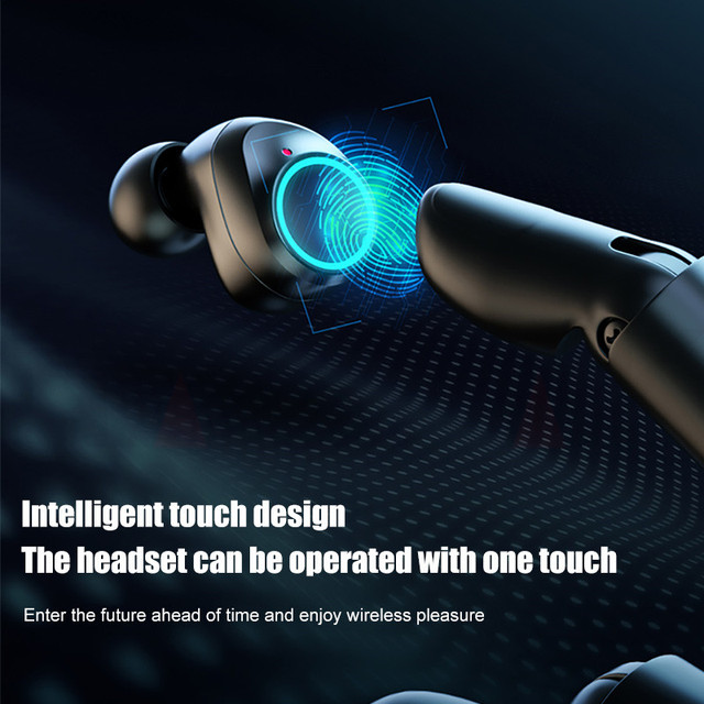 TWS Bluetooth 5.0 Earphones 3500mAh Charging Box Wireless Headphone 9D Stereo Sports Waterproof Earbuds Headsets With Microphone 3