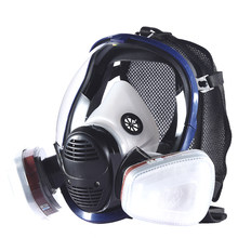 Full Face Paint Gas Mask 6800 Respirator Chemical Mask with Carbon Filter Cartridge Full Protective Spray Welding Industry(China)