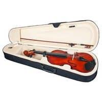 Akustische Violine 1/4 Volle Größe Holz Geige Mit Bogen Tragen Fall Kits für Musical Liebhaber Student