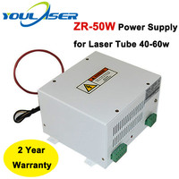 Fonte de alimentação do laser 50w ZR 50W para 40 50 60 co2 tubo do laser de vidro|Peças p/ máquinas de trabalho em madeira| |  -