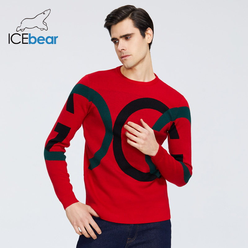ICEbear 2020 New Men's Sweater High Quality Male Apparel Autumn Men's Clothing 1815 title=