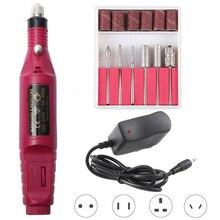 Pedicure-Drill Salon Professional Portable 1set
