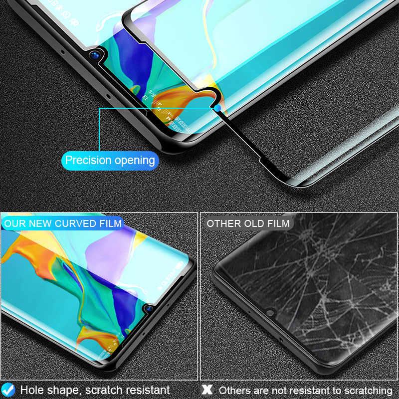 3 個保護 Huawei 社の P30 Lite P20 プロ P10 プラス強化ガラス Huawei 社の名誉 9 10 Lite 10i スクリーンプロテクターフィルム