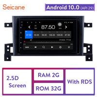 Seicane Android 10.0 7 Car Radio For Suzuki SX4 2006 2012 2Din Tochscreen Multimedia Player Head Unit Support Mirror Link DVR