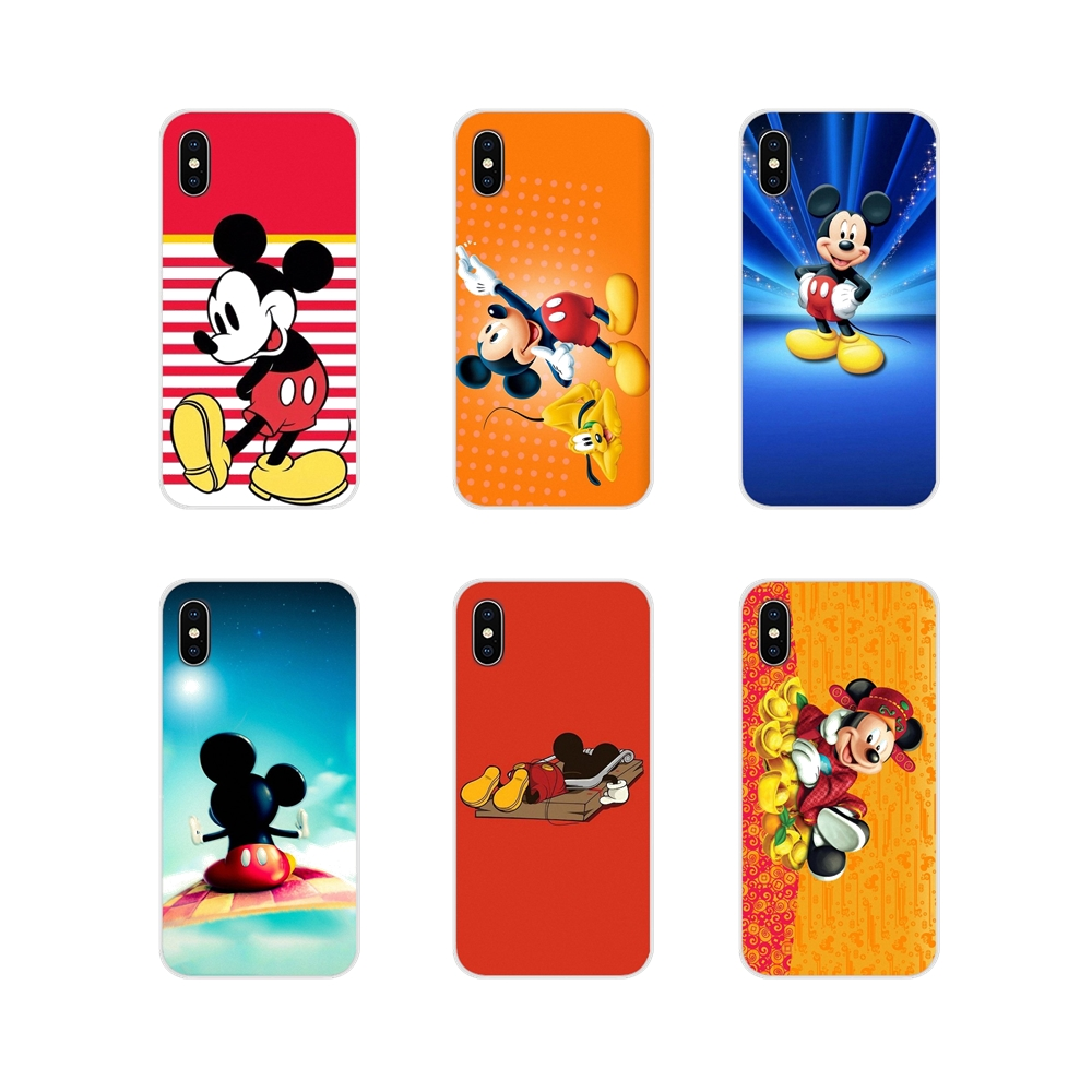 Accessories <font><b>Phone</b></font> <font><b>Cases</b></font> Covers Flying Carpet Mickey Mouse For <font><b>Samsung</b></font> Galaxy S2 S3 S4 S5 Mini S6 <font><b>S7</b></font> Edge S8 S9 S10E Lite Plus image