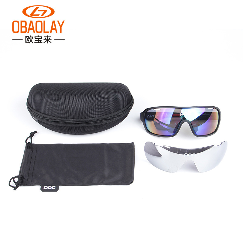 New Style POC Outdoor Men And Women Sports Windproof Sand Eye Protection Goggles Glasses For Riding Bicycle Glasses
