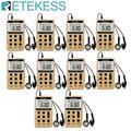 10 stücke Retekess V112 Mini Tasche Radio FM AM Digitales Tuning Radio Empfänger mit Akku & Kopfhörer F9202-in Radio aus Verbraucherelektronik bei