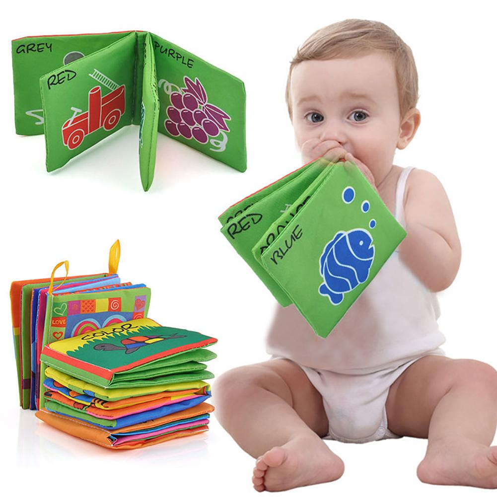 Intelligence Development Funny Cloth Cognize Book Educational Toy For Kids Baby