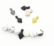 Bead Spacer Beads for Jewelry Making Retro Vintage Golden steel Stainless Steel Fish Make Crystal Glass Wooden Couple Gift сетевое зарядное устройство prime line 1a с кабелем micro usb черный