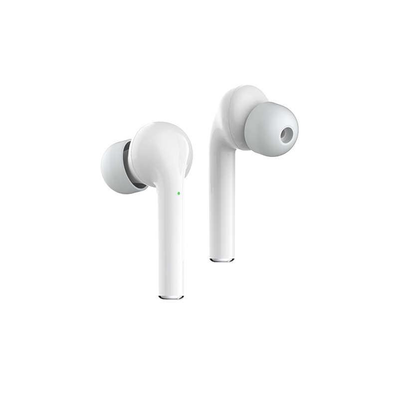 TWSหูฟังบลูทูธพร้อมไมโครโฟนหูฟังHDสเตอริโอSuper Bassกีฬาหูฟังไร้สายแฮนด์ฟรีหูฟังสำหรับAndroid IOSโทรศัพท์