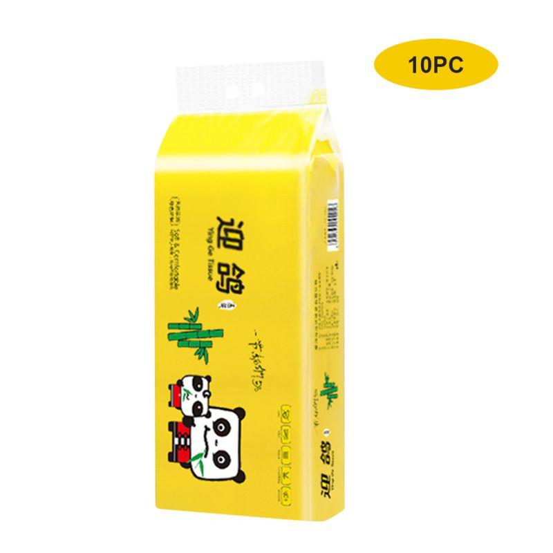 10 Roll/set Multifunctional Organic Bamboo Toilet Paper Natural Environmental Protection Toilet Paper